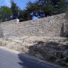 Déconstruction et reconstruction du mur Square Boucheau