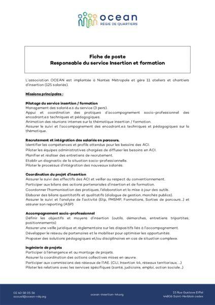 thumbnail of Fiche de poste Responsable Insertion Formation (2)